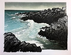 Ian Phillips, North Shore Swell, Limited Edition Seascape Print, Contemporary