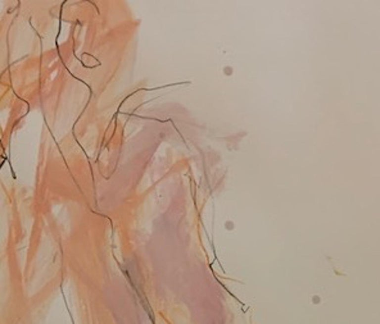 Judith Brenner, Sophie Seated 3, Original Figurative Painting, Nude Artwork For Sale 2