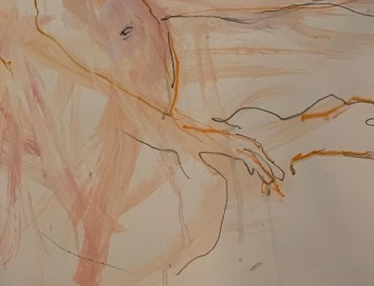 Judith Brenner, Sophie Seated 3, Original Figurative Painting, Nude Artwork For Sale 3