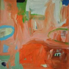 Diane Whalley, A Taste of Summer, Original Bright Abstract Art, Happy Art