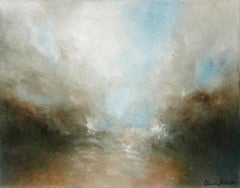 Claire Podesta, Here with Me, Contemporary Romanticist Landscape Painting