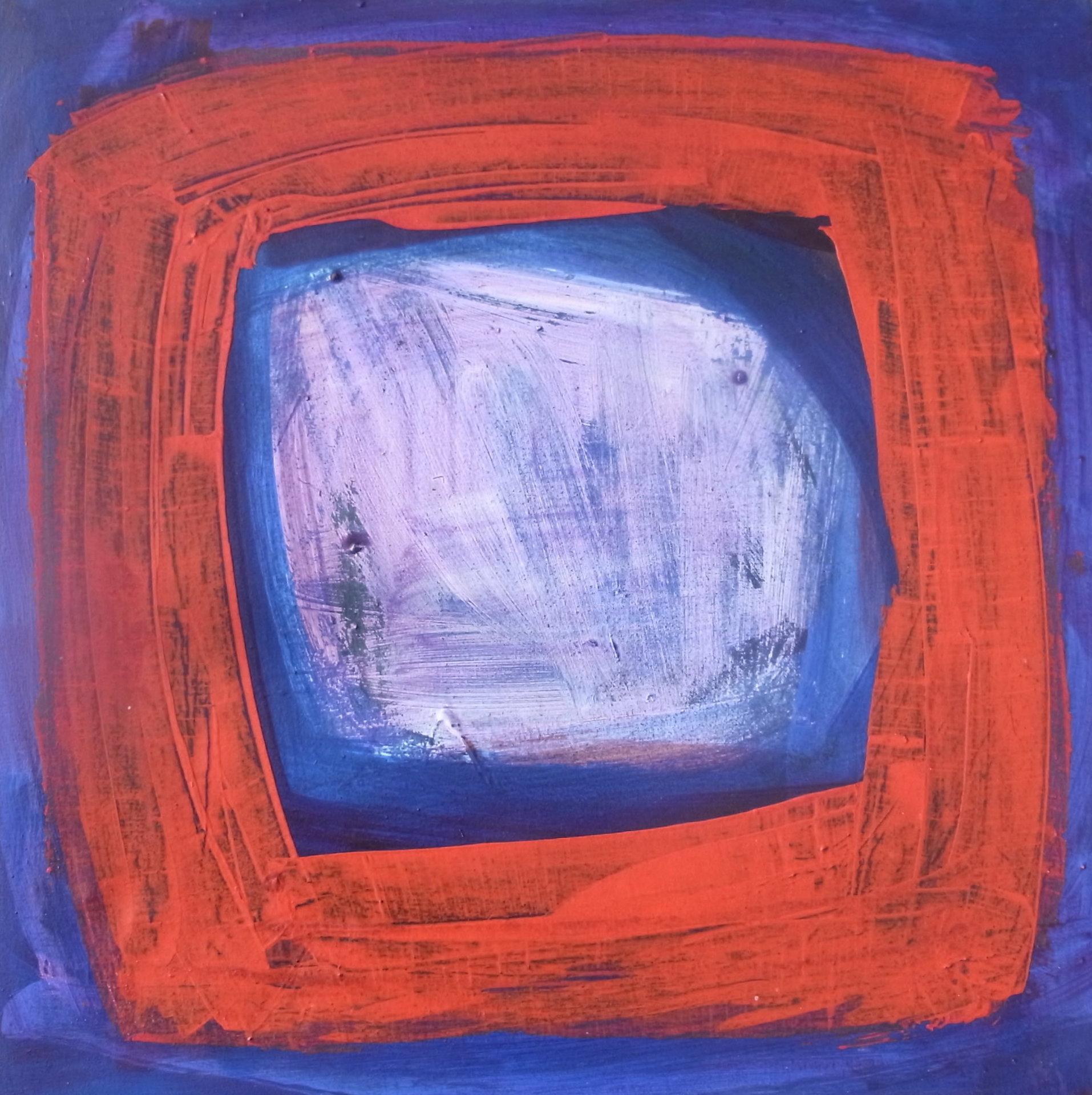 Julia Craig, Sennen , Original Abstract Art, Contemporary Minimalist Painting