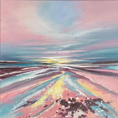 Adele Riley, Remembering You,  Original Landscape Painting, Contemporary Art
