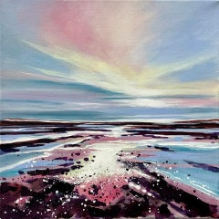 Adele Riley Artist, The sea calls me, Contemporary Landscape Painting