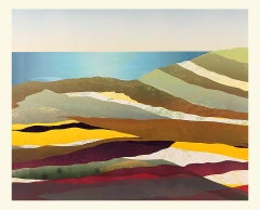 Sarah du Feu, Cornwall Seascape 2, Original Monoprint, Contemporary British Art