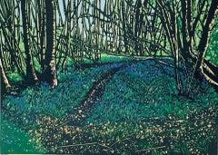 Jennifer Jokhoo, Emerald Forest, Contemporary Landscape Print, Affordable Art