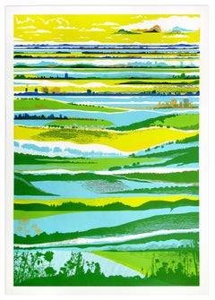 Chris Keegan, Town and Country, Affordable Limited Edition Contemporary Print