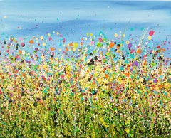 Lucy Moore, Tutti Frutti Meadows, Original Abstract Expressionis Landscape Art