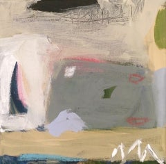 Diane Whalley, Coastal View,  Original Abstract Painting, Affordable Sea Art