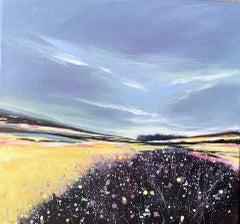 Adele Riley, I Can Hear the Sea, Original Contemporary Impressionist Seascape