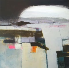 Rachel Cronin, The Top Road, Original Contemporary Abstract Landscape Painting