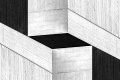 Cristian Stefanescu Monochromatic #3 Black + White Contemporary Minimalist Print