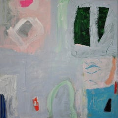 Diane Whalley, Ice Blue, Affordable Art, Abstract Art