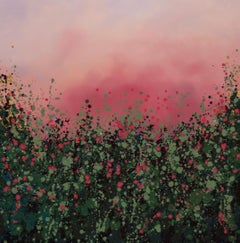 Sophie Berger, Wild Hedgerows, Original Abstract Art, Affordable Art
