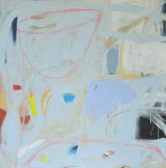 Diane Whalley, Blue Eyes ,Original Abstract Painting