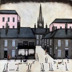 Sean Durkin, Hughstreet, Original Oil Painting