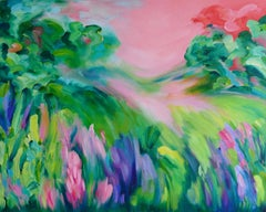 Alanna Eakin, This One's For You, Abstract Landscape Painting, Original Art