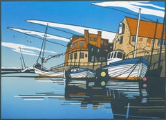 Colin Moore, Blakeney Harbour, Limited Edition Print, Affordable Art