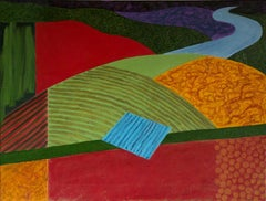 Christo Sharpe, Late evening Over Fowey, Original Landscape Painting, Art Online