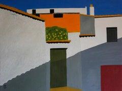 Christo Sharpe, Orange Tree, Original Painting, Art Online