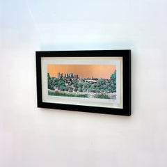 Jason Lilley, A little bit of Canary Wharf, London Art, Limited Edition Print