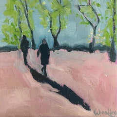 Eleanor Woolley,  Winter Shadows 6, Affordable Art, Original Art