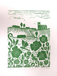 Joanna Hadfield, Summer Meadow, Limted Edition Print, Affordable Art