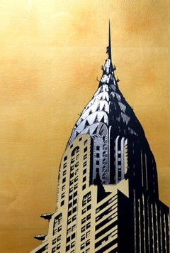Jason Lilley, Chrysler Building, Limited Edition Architecture Print