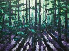 Alexandra Buckle, Summer Woodland Sight, Original Painting, Affordable Art