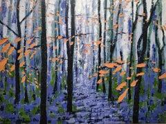 Alexandra Buckle, Winter Woodland Sight, Landscape Painting, Affordable Art