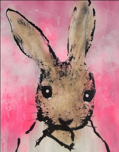 Harry Bunce, Sorry...#115, Contemporary Animal Painting, Affordable Art,