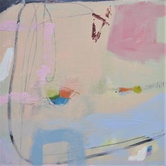 Diane Whalley, A Sheltered Place, Original Contemporary Abstract Painting
