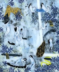 Adam Bartlett, La Joie De Vivre, Original Art, Affordable Art, Art Online