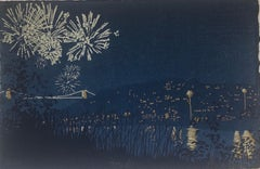 Anna Harley, Hotwells, Limited Edition Silkscreen Print, Cityscape Art