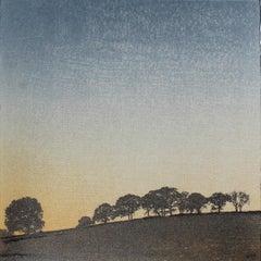 Anna Harley, Sunrise Mini, Limited Edition Silkscreen Print, Landscape Art