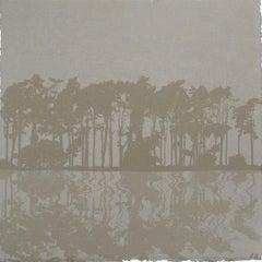 Anna Harley, Pines Mini, Limited Edition Silkscreen Print, Affordable Art
