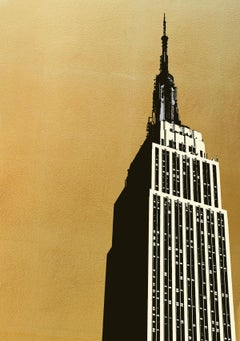 Jason Lilley, Empire State, Limited Edition Architecture Print, Affordable Art