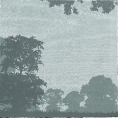 Anna Harley, Oaks Mini, Limited Edition Silkscreen Print, Affordable Art