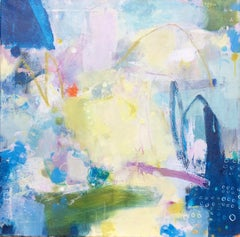 Jessica Brown, Flying Low, Original Abstract Painting, Affordable Art
