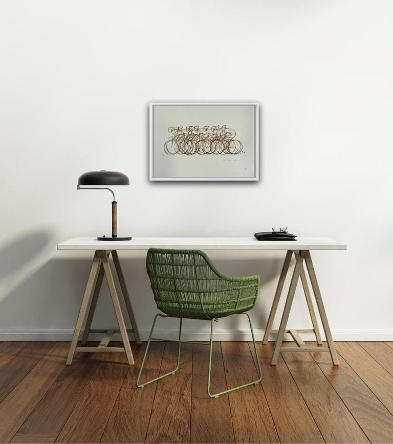 Eliza Southwood, Coffee Peleton, Cycle Art, Affordable Art, Art Online For Sale 5