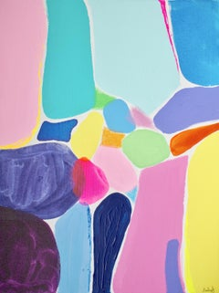Rebecca Newport, Summer Series no. 3, Contemporary Abstract Painting