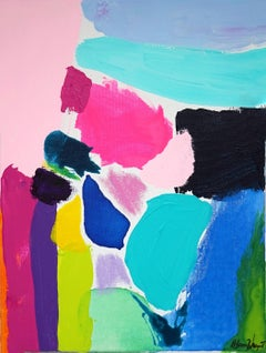 Rebecca Newport, Granada, Contemporary Abstract Painting, Affordable Art
