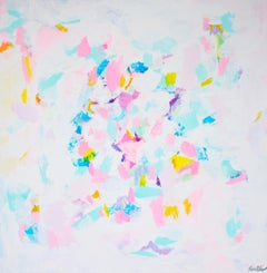 Rebecca Newport, Rose Garden, Contemporary Abstract Painting, Affordable Art