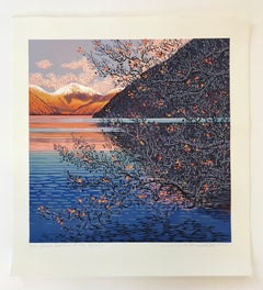 Mark A Pearce, Great Gable and the Screes, Limited Edition Landscape Print