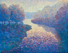 Lee Tiller, Today is Not Just Another Day, Contemporary Impressionist Painting