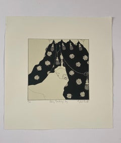 Mychael Barratt, Aubrey Beardsley's Dog, Affordable Art, Animal Art, Witty Art