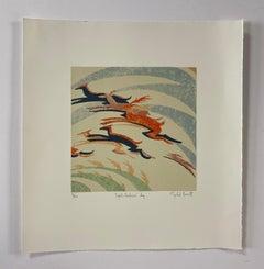 Mychael Barratt, Sybil Andrews' Dog, Limited Edition Print, Contemporary Art