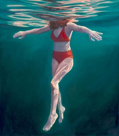Amy Devlin, Tranquility, Contemporary Art, Affordable Art, Figurative Art