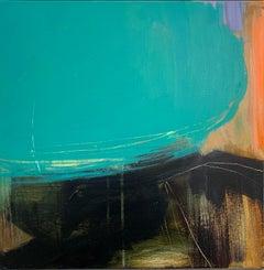 Jill Campell, Fell 3,  Original Landscape Painting, Contemporary Art