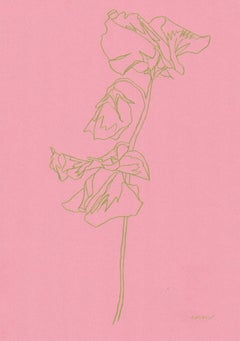 Ellen Williams, Sweet Pea II, Original Drawing, Affordable Art, Art Online
